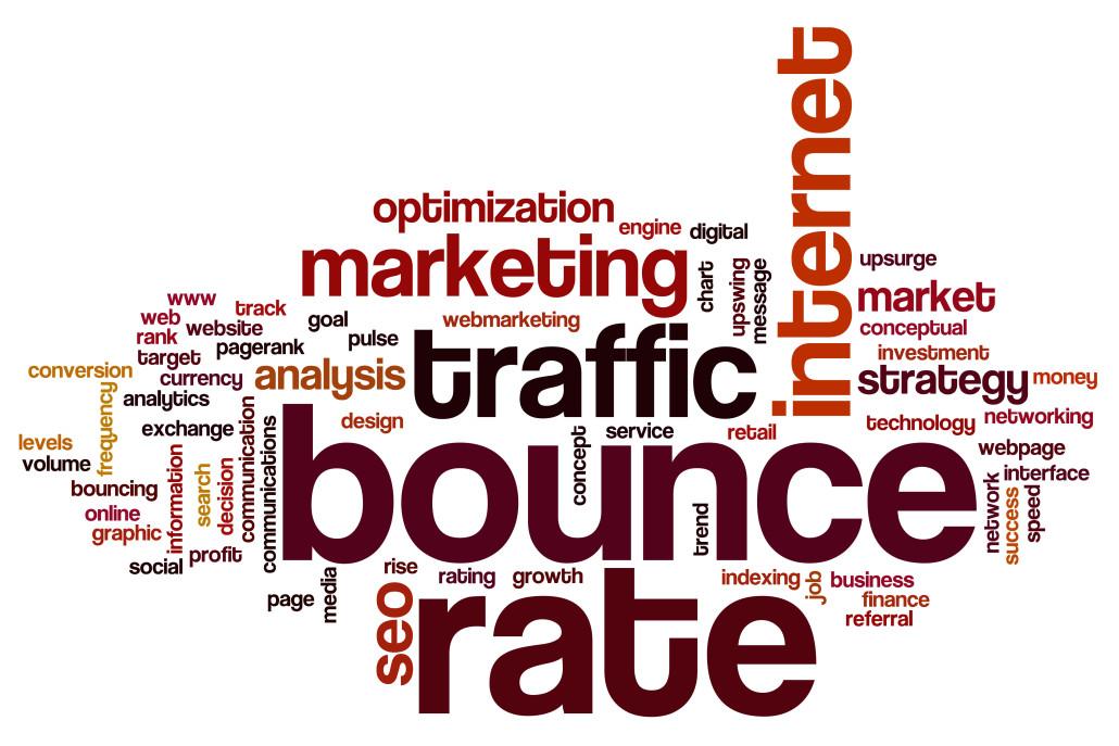 Website Analytics Bounce rate
