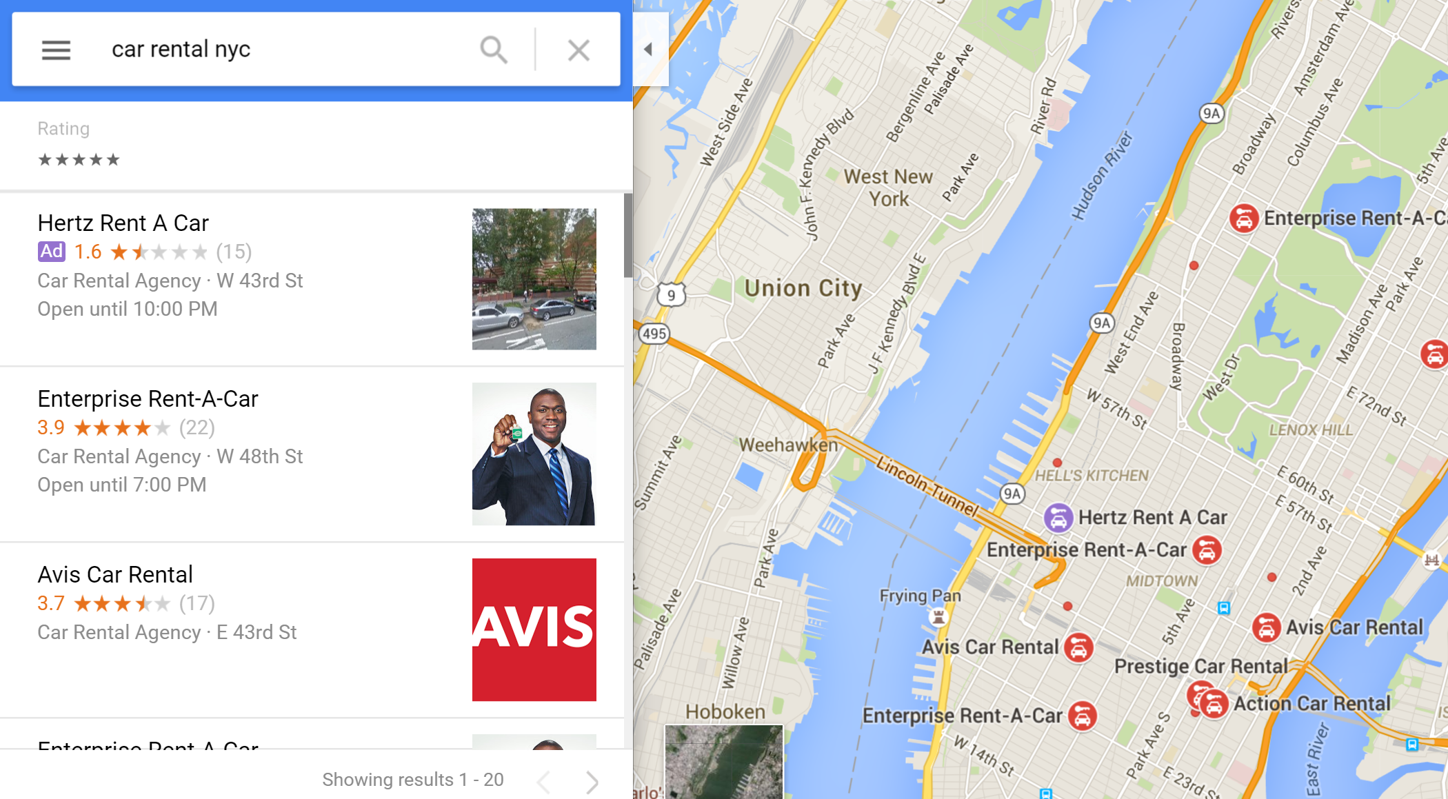 Google Testing Color-Coded Local Ads in Google Maps - Visual Visitor ...